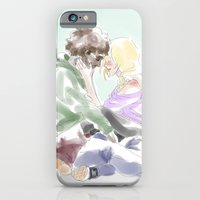 iPhone Cases featuring jehan and grantaire les mis by Pruoviare