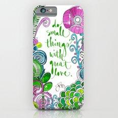 Small Things Terrarium Slim Case iPhone 6s