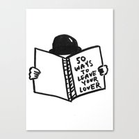 50 Ways To Leave Your Lover Canvas Print