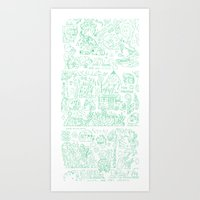 Your Farts  Art Print
