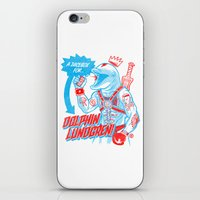 A Juicebox For Dolphin L… iPhone & iPod Skin