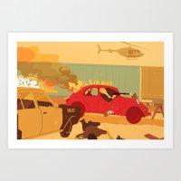 Sunday Drive Art Print