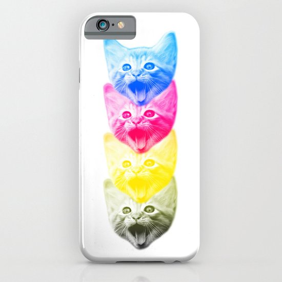 CMYKat iPhone & iPod Case