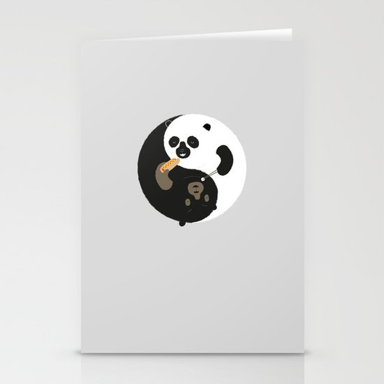 Yin-Yank Stationery Card