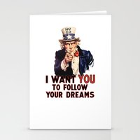 My Uncle Sam Stationery Cards