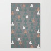 Concrete & Pattern Canvas Print