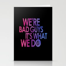 Harley Quinn's Quote - black Stationery Cards