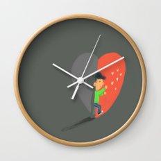 Boy in Love #4 Wall Clock