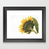 Greener On The Other Sid… Framed Art Print