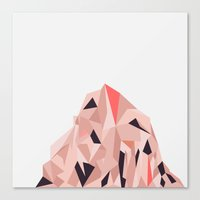Mount Pios Right Canvas Print