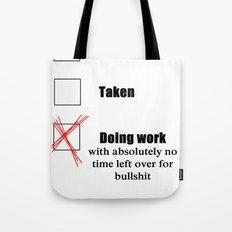 Do Work Tote Bag