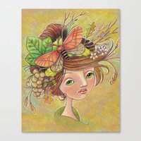 Forest Glories Canvas Print