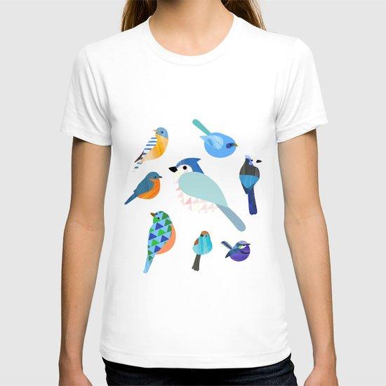 Blue Birds T-shirt