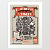 Extraordinarily Useless … Art Print