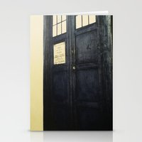 Doctor Who: Time And Rel… Stationery Cards