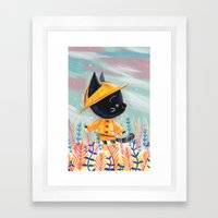 Raincoat 1 Framed Art Print