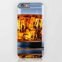 iPhone Cases featuring Burning drink by Patrik Lovrin Photography