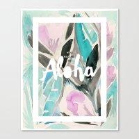 You Had Me At Aloha Canvas Print