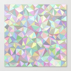 Happy triangles Canvas Print