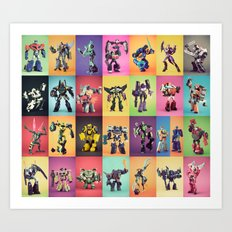 The Gangs All Here  Art Print