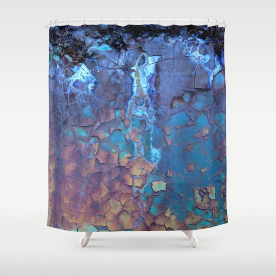 waterfall shower curtain by lena weiss society6. Black Bedroom Furniture Sets. Home Design Ideas
