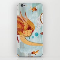 Into the Fishpond iPhone & iPod Skin