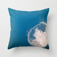 Lonely Pearl Throw Pillow