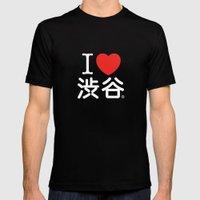 I ♥ Shibuya Mens Fitted Tee Black SMALL