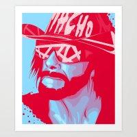 Macho King Art Print