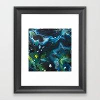 Color Commentary #9: Gre… Framed Art Print
