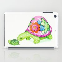 Mom and Baby Turtle iPad Case