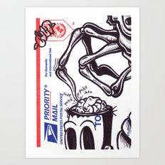 Brain Teaser Art Print
