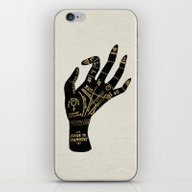 iPhone & iPod Skin featuring Palmistry by Cat Coquillette