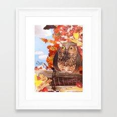 Hoot! Framed Art Print