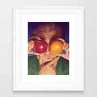 Decisions Framed Art Print