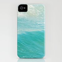 iPhone Cases featuring Lull. Beach photograph. Hermosa Beach California by Myan Soffia