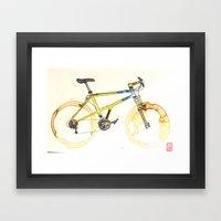 Coffee Wheels #15 Framed Art Print