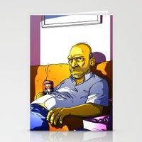 Depressed Homer Stationery Cards