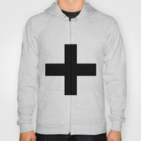 Black Plus on White /// www.pencilmeinstationery.com Hoody