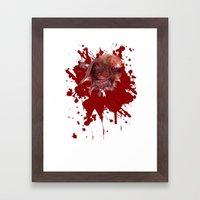 Chestburster Framed Art Print