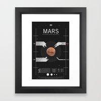 OMG SPACE: Mars 1990 - 2… Framed Art Print