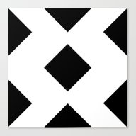 Black And White 6 Canvas Print