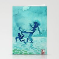 Capoeira 334 Stationery Cards