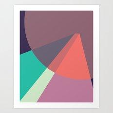 Cacho Shapes LXXXVII Art Print