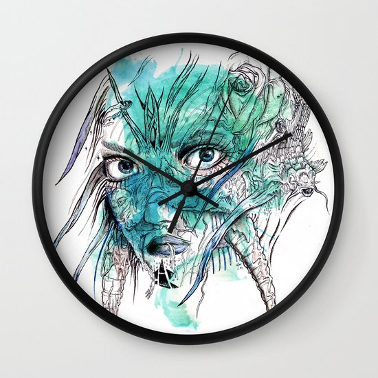 Beetle Born Wall Clock