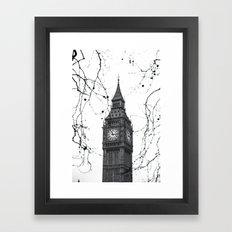 Large Ben Framed Art Print