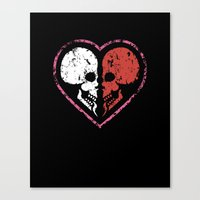 MADly In Love With You  … Canvas Print