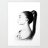 Ashley Moore  Art Print