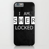 iPhone & iPod Case featuring No. 1. I Am Sherlocked by F. C. Brooks
