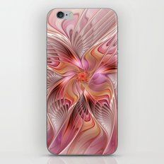 Abstract Butterfly, Fantasy Fractal iPhone & iPod Skin